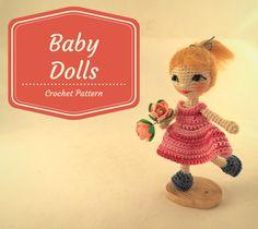 Baby Dolls 2-in-1 Сrochet Pattern [PDF instant download] by ToyMagic on Etsy https://www.etsy.com/listing/452404666/baby-dolls-2-in-1-srochet-pattern-pdf