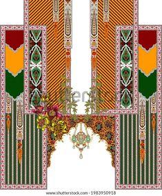 Botanical Flowers, Free Stock Photos, Textile Design, Royalty, Textiles, Colorful, Digital, Illustration, Artist