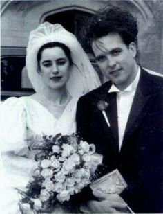 Robert and his bride Mary.