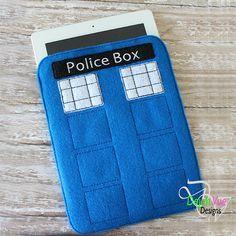 police box machine embroidery design - Yahoo resultater af billedsøgning