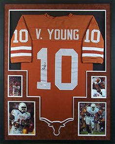 Vince Young Framed Jersey Signed JSA COA Autographed Texas Longhorns Mister  Mancave http    2270e6f53