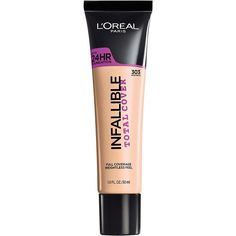 L'Oreal Infallible Total Cover Foundation Spring 2017