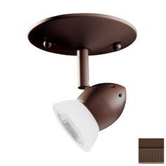Kendal Lighting Oil-Rubbed Bronze Flush Mount Fixed Track Light Kit Mp