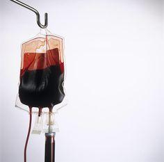 blood bag // vampires // hospital