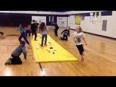 Fun Game for P.E. Class - Save the Treasure - YouTube