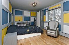 Pourquoi se limiter à une seule couleur...? Bed, Furniture, Home Decor, Bedroom, Color, Home, Decoration Home, Stream Bed, Room Decor