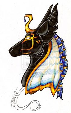 Anubis. by ~Spiderwick19 on deviantART