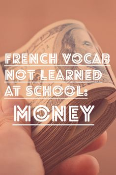 french-vocab-money