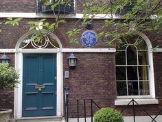 Edward Burne-Jones' house, 41 Kensington Square, London