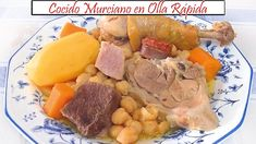 Cocido Murciano en Olla Rápida | Receta de Cocina en Familia