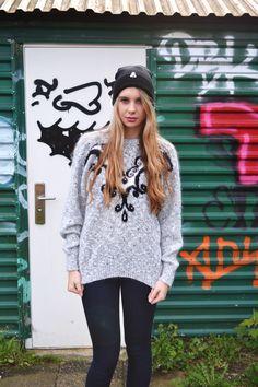 Shop the look - https://marketplace.asos.com/boutique/emma-warren  Facebook - https://www.facebook.com/designemmawarren  #grunge #grungefashion #asosmarketplace #model #outfitoftheday #outfit #beanie #fashion #style #hair