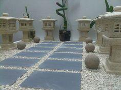 A Zen Arrangement by WallzArt. Miniature Zen Garden, Sandbox, Manila, Miniatures, Contemporary, Home Decor, Litter Box, Decoration Home, Room Decor