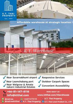 [EEC Warehouse Ready ] 6 ข้อดีในการตั้งโรงงาน คลังสินค้าที่ฉะเชิงเทรา Suvarnabhumi Airport, Wooden Decor, Warehouse, Thailand, This Is Us, Industrial, Outdoor Decor, Industrial Music, Magazine