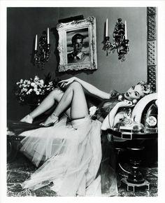 vintagegal:  Burlesque Dancer Lili St. Cyr 1950's #lingerie