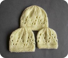 marianna's lazy daisy days: premature baby Matching Hat for the Lazy Daisy All-in-One Preemie Top Baby Cardigan Knitting Pattern Free, Baby Hats Knitting, Baby Knitting Patterns, Free Knitting, Knitted Hats, Crochet Edgings, Cardigan Pattern, Knitting For Charity, Tejidos