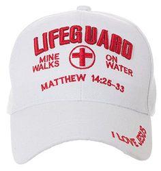 9f15b96641c RELIGIOUS CHRISTIAN GIFT -100% COTTON EMBROIDERED CAP      Matthew 14