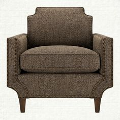Monroe Upholstered Chair in Tribeca Pewter