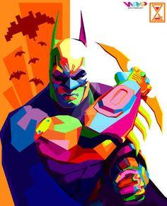 Image result for batman pop art