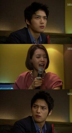 Protect the Boss ♥ Kim Jaejoong as Cha Mu Won ♥ Wang Ji-hye as Seo Na Yoon