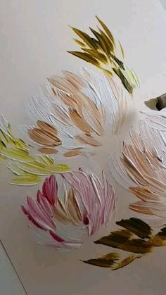 Acrylic Painting Flowers, Flowers To Paint, Daisy Painting, Acrylic Artwork, Floral Paintings, Unique Paintings, Small Paintings, Diy Canvas Art, Flower Art