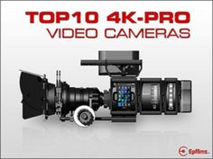 If you are after a 4K DLSR CAMERA have a look at the BEST 4K DLSR CAMERAS Top 10 +Best 4K Professional Video Cameras & Camcorders Panasonic Hc-X1000 4K Camcorder Those who wish to make the move to 4K will find the HC-X1000 by Panasonic a good choice of camera.