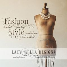 www.lacybella.com  Fashion Is What You Buy: Lacy Bella | Personalized Vinyl Lettering and Wall Decals