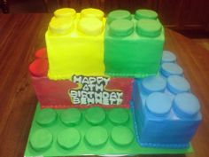 Lego Cake Lego Birthday