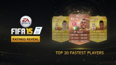 EA Sports Announces the 20 Fastest Footballers in FIFA 15
