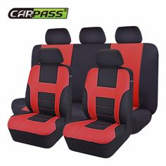 Car-pass Car Seat Cover Six Color  Universal  Covers Interior Accessories Seat Covers  Fit For Toyota Mazada Nissan Hyundai #Affiliate