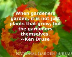 When Gardener's garden