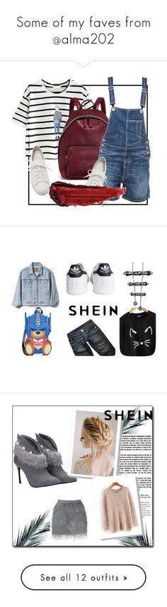 """""""Some of my faves from @alma202"""" by xonfident ❤ liked on Polyvore featuring Santoni, STELLA McCARTNEY, Dondup, By Terry, Thomas Wylde, adidas, Gap, Moschino, Origin 31 and New Growth Designs"""