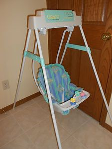 Vintage Graco Swyngomatic Wind Up Baby Swing Baby