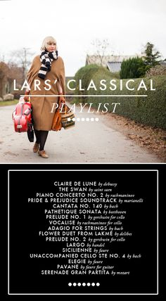 June playlist. Taking it down a notch--my fave classical pieces for the calmer days.