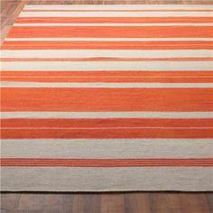 Classic Stripe Dhurrie Rug
