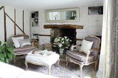 Moorland VIew Cottage Living Room in Spring, via Flickr.