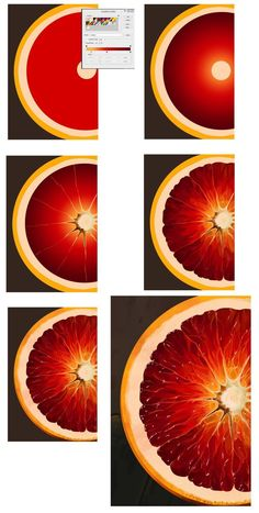 Orange: Step-by-step tutorial by XGingerWR on DeviantArt - Digitale Illustration Digital Art Tutorial, Digital Painting Tutorials, Art Tutorials, Doodle Drawing, Learn Drawing, Drawing Step, Adobe Illustrator Tutorials, Ipad Art, Graphic Design Tutorials