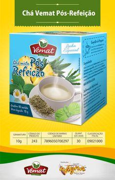 Chá Vemat Pós Refeição 10gr