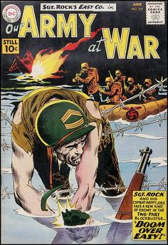 army at war comics feat. sgt. rock & easy company