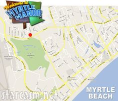 Where is Myrtle Manor? Welcome To Myrtle Manor map and trailer locations of the cast