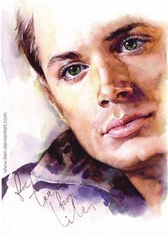 Dean Winchester fanart. This is amazing!