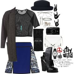 """""""im on the edge"""" by arikl on Polyvore"""