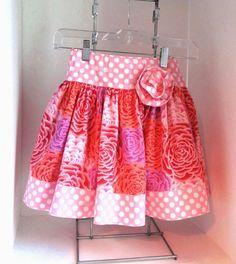 Girls skirt size 4 by saraannas on Etsy, $24.00