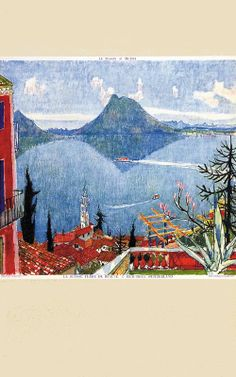 Tessin Carigiet Retro Poster, Vintage Posters, Indian Artist, Tapestry, History, Landscapes, Painting, Illustrations, Logo