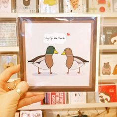 This card is popular all year round and also makes a perfect valentines card! #ayupmeduck #ayup #duck #valentines #justacard #Nottingham #shopnotts #lovenotts #shopindependent