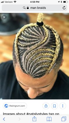 Latest Braided Hairstyles for Men is part of Trendy New Braided Hairstyles Short Hair For - Today we bring you the latest and most sophisticated braided hairstyles for men that every man of style can rock This amazing braided hairstyles wil… Cornrow Hairstyles For Men, Latest Braided Hairstyles, Cute Hairstyles For Short Hair, Teenage Hairstyles, Tree Braids Hairstyles, Men's Hairstyle, Girl Hairstyles, Cornrows, Braided Man Bun