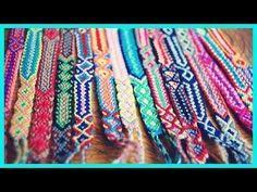 DIY #4: Como fazer Friendship Bracelets/Pulseiras da Amizade/Pulseiras H...