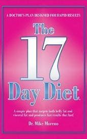 The 17 day diet first appeared on The Doctors and Dr. Phil's show. Dr. Mike Moreno, it's creator claimed that with this plan, users could lose...
