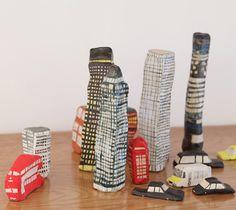 Laura Carlin's ceramic pieces