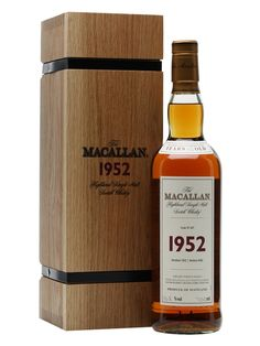 A 50 year old vintage Macallan, distilled the year that Queen Elizabeth became monarch and bottled shortly after the millennium at its full cask strength of 50.8% as part of the distillery's Fine &...