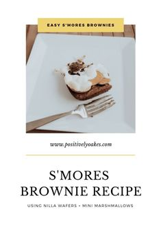 An easy s'mores brownie recipe using nilla wafers and mini marshmallows, delicious and quick to make for Easter, summer or a party - really any occassion and such a great dessert! @nillwafers @krogerco @fredmeyerstores #NILLAWafersatKroger #EveryBunnyLovesNILLA #sponsored